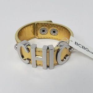 NWT BCBGENERATION Affirmation Bracelet CHIC